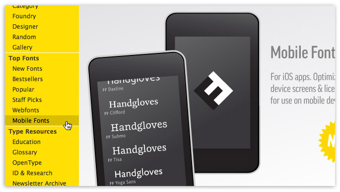 15 Ways to Move Your Online Brand to Mobile « FontShop Blog