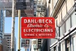 Dahl-Beck Electric Co. signage