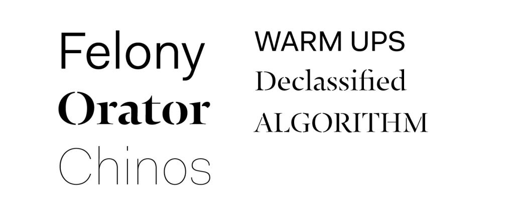 Fakt & Typonine Stencil styles