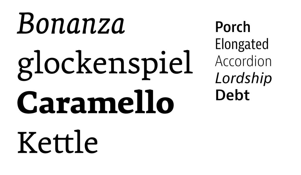Premiéra, Bernini Sans