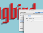 Use a text variable to change all layers at once.