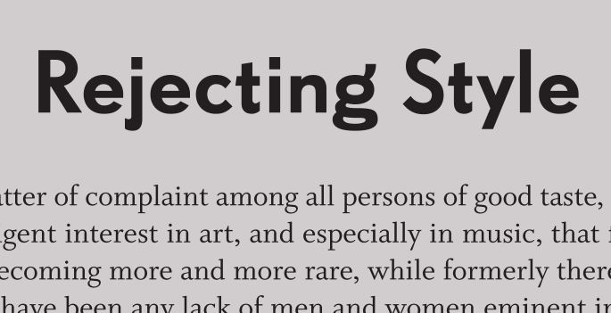 FF Super Grotesk, alternate g