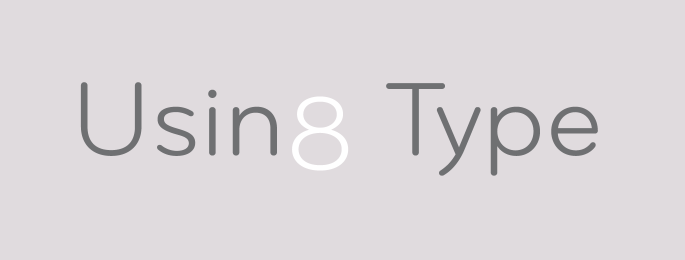 Using Type, set in Bryant