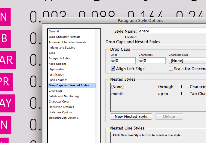 Nested styles