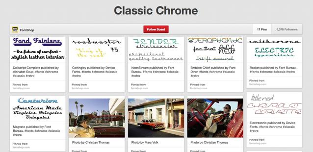 Pinterested: Classic Chrome