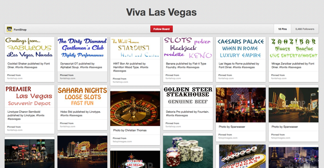 Pinterested: Viva Las Vegas