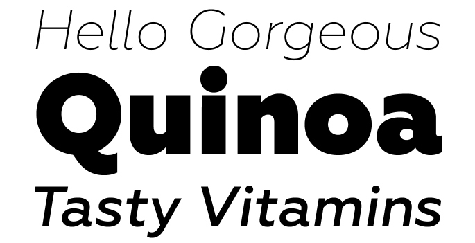 New Fonts 2014 Week 14 _2014 Week 14 - Geometria