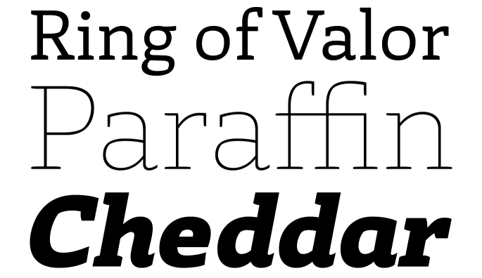 New Fonts 2014 Week 14 _2014 Week 14 - Laski Slab