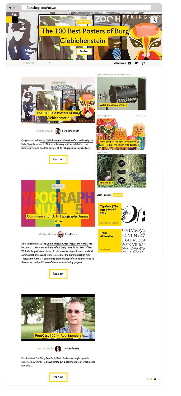 FontShop-News